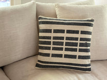Load image into Gallery viewer, Broken Stripe Pillow
