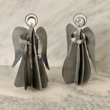 Load image into Gallery viewer, Galvanized Angels (set of 2)