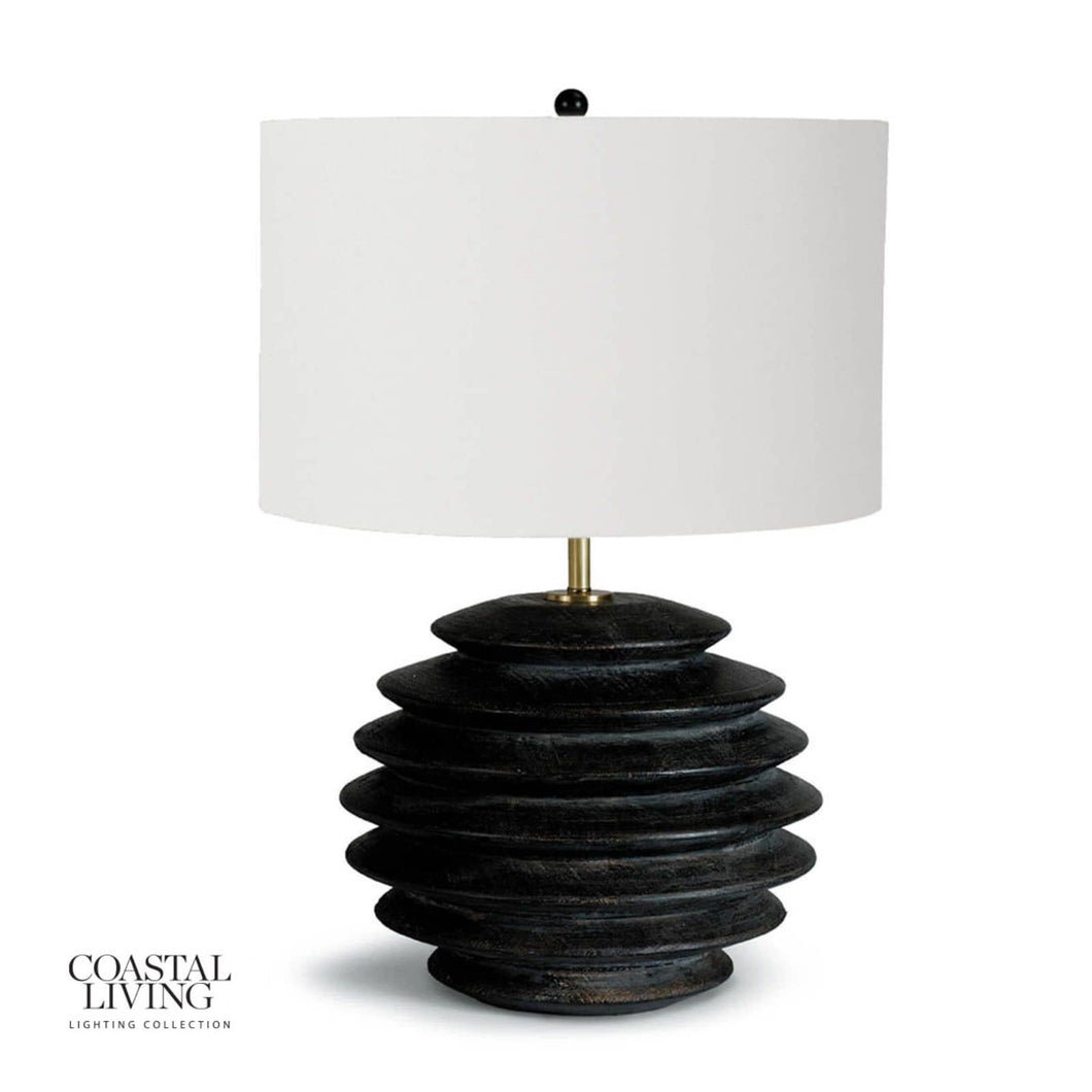 Accordian Table Lamp