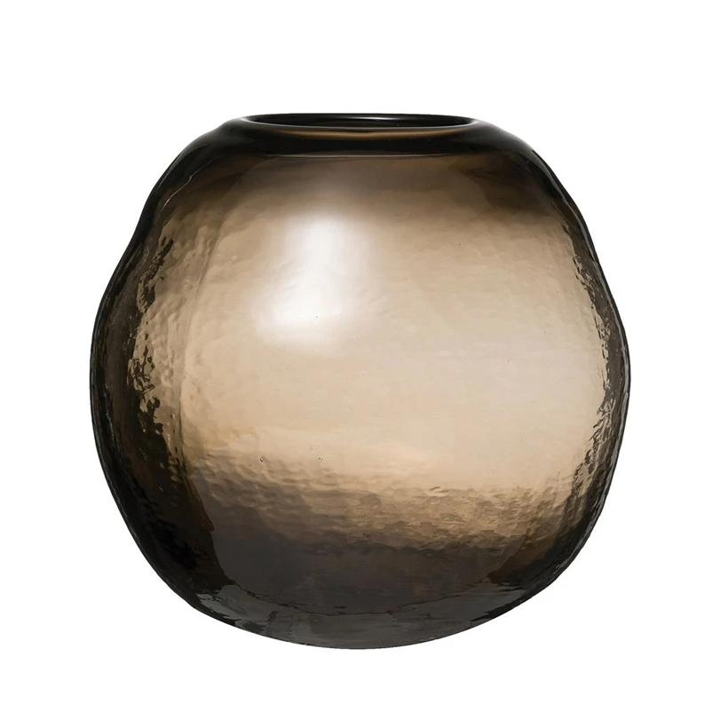 Brown Sphere Vase