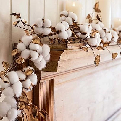 6' Cotton Garland