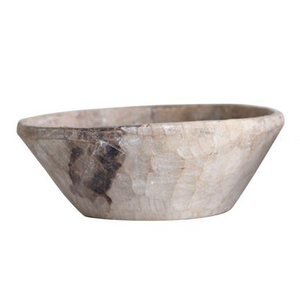 Found Wood Bowl, Light