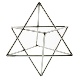 Geometric Star Sculpture