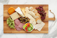 Load image into Gallery viewer, Rectangular Oak Charcuterie Board