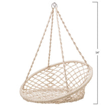 Load image into Gallery viewer, Hanging Macrame Swing