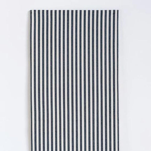 Black Striped Table Runner, 72