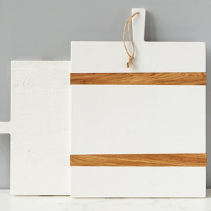 White Rectangular Charcuterie Board