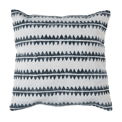 Block Print Zigzag Pillow