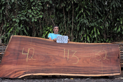 Monkey Pod / Cenizero Live Edge Wood Slab