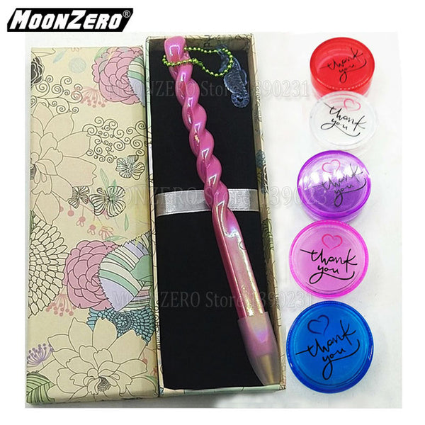 New Rainbow Color Pen | Chain Embroidery | Diamond Painting Pen -Diamond Painting Kits, Diamond Paintings Store