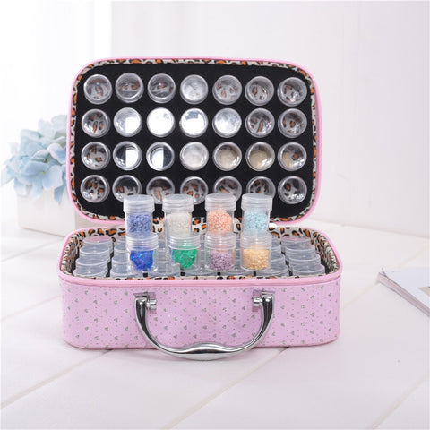 Multi Grid Diamond Painting Storage Box | Diamond Container Accessory |  DIY Diamond Container Case -Diamond Painting Kits, Diamond Paintings Store