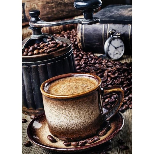 Coffee Lovers - 5d DIY Full Square drill Coffee Cup Diamond Paintings. 23 Delicious Designs to choose from! -Diamond Paintings, Diamond Paintings Store
