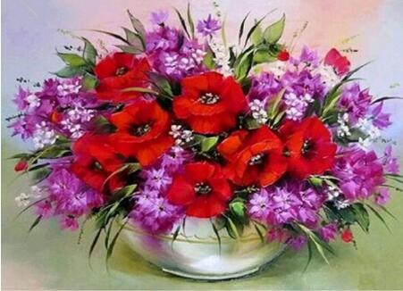 Variety Flower Diamond Painting Kits - Diamond Paintings Store
