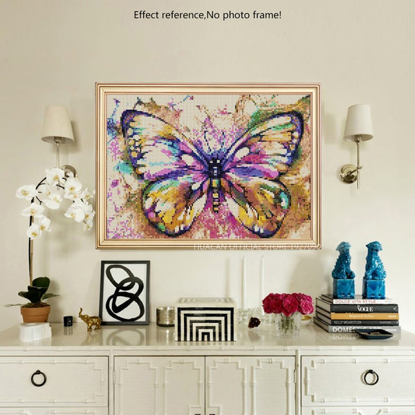Colorful Butterfly, Diamond Painting -Diamond Paintings, Diamond Paintings Store
