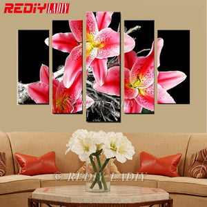 5 Panels Diamond Painting Wall Art -Diamond Paintings, Diamond Paintings Store