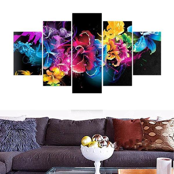 5 Panel, 5D Diamond Painting Kit - On Sale -Diamond Paintings, Diamond Paintings Store