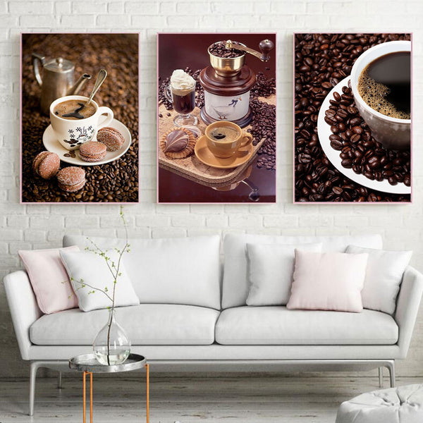 Coffee and Cookies DIY 5D Diamond Painting Kits.  Collect all 8 - ON SALE -Diamond Paintings, Diamond Paintings Store