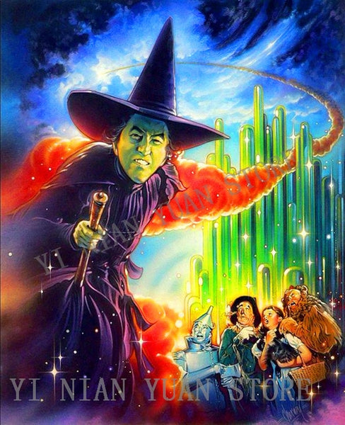 New Wizard of Oz 5D Diamond Painting, Full square/round Drill,  3 Designs -Diamond Paintings, Diamond Paintings Store