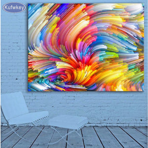 NEW - 5D Diamond Painting KIT- Color cloud- Vibrant - On Sale -Diamond Paintings, Diamond Paintings Store