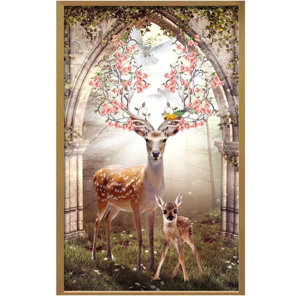 Majestic Deer Diamond Painting Kit, 15 Patterns to Choose, On Sale -Diamond Painting Kits, Diamond Paintings Store