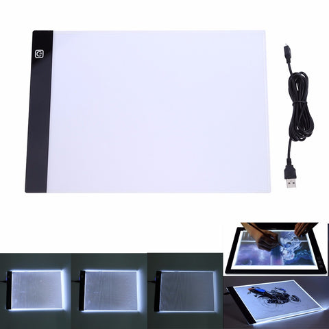 Diamond Painting LED Light Pad - Ultra thin 23.5x33.5 - A4 LED, USB Plug -On Sale -Diamond Painting Kits, Diamond Paintings Store