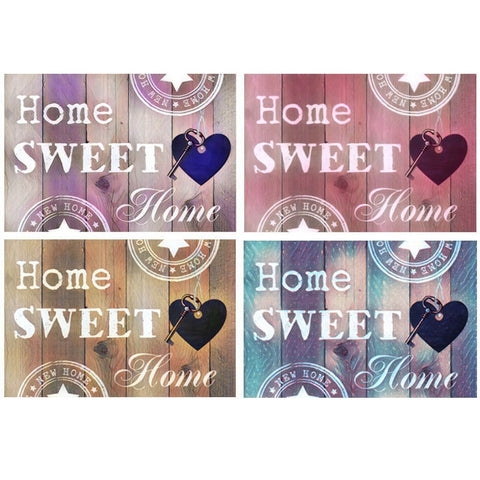 Home Sweet Home Diamond Painting, Full Square Rhinestone 5D DIY diamond embroidery