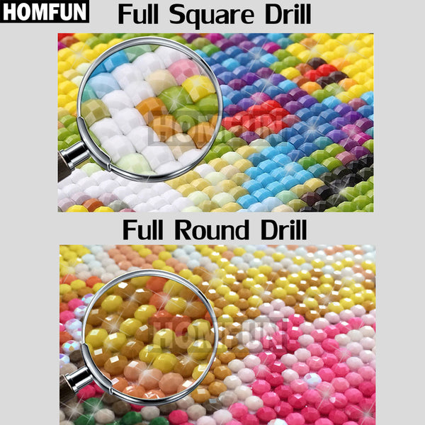 Full Square/Round Drill 5D Embroidery | DIY Christmas Cartoon Diamond Painting | 3D Christmas Grouch Embroidery Cross Stitch -Diamond Paintings, Diamond Paintings Store