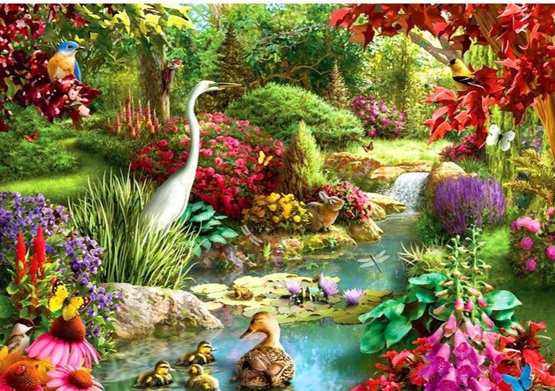 Forest Colorful Wildlife | Intricate DIY Diamond Painting Kit,  Full Square/Round Drill 5D Diamond Art - Diamond Paintings Store