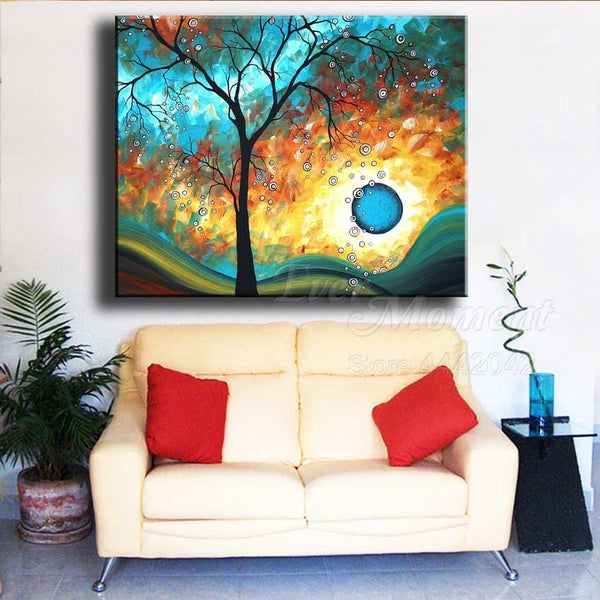 New - Blue Moon Diamond Painting, Full Square Drill Diamond -Diamond Paintings, Diamond Paintings Store
