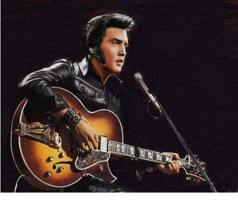 Elvis Presley Acoustic, 5d DIY Diamond Painting | Full Square Rhinestone Embroidery Diamond Art -Diamond Paintings, Diamond Paintings Store