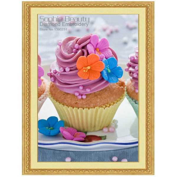 New - Ice-cream Cakes Diamond Painting. 16 Designs to choose from -Diamond Paintings, Diamond Paintings Store