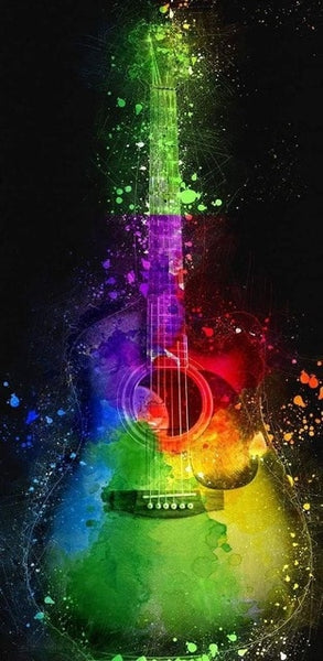 Musical Instruments, 5D Diamond Painting Kits - Collect All 8 Designs -Diamond Paintings, Diamond Paintings Store