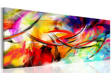 "NEW 5D Diamond Painting""Abstract Color"" Landscape Canvas Diamond Painting Kit -Diamond Paintings, Diamond Paintings Store"