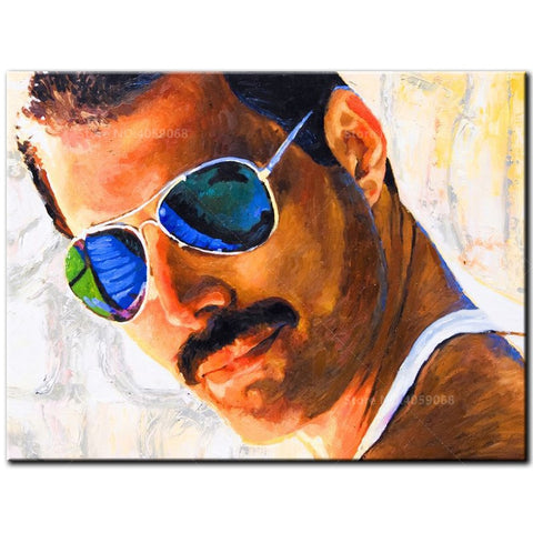 Freddie Mercury, 5D Diamond Painting, Full Square/Round Diamond Mosaic Embroidery Painting -Diamond Paintings, Diamond Paintings Store