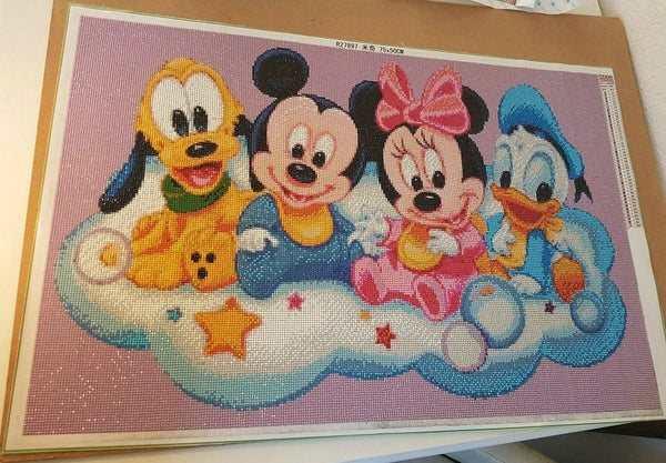 Full Square/ Round Drill Diamond Painting - Disney Castle Rhinestone Diamond Art -Diamond Paintings, Diamond Paintings Store