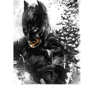 New DIY Batman Diamond Painting | Full Square Diamond Embroidery | 5D Batman Diamond Painting Portrait - Diamond Paintings Store