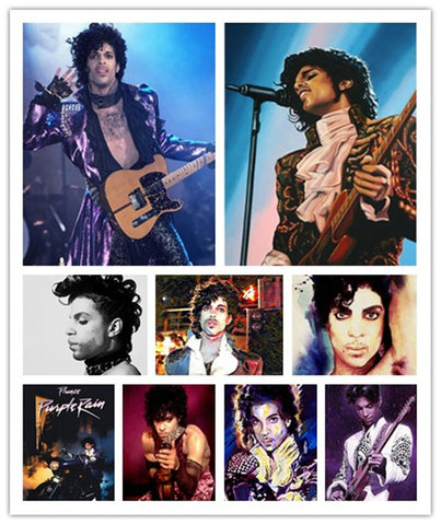 Prince Portraits 5d DIY Full Square Diamond Paintings | 12 Designs, Diamond Mosaic Needlework