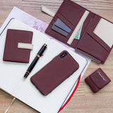 AirPods leather case  - bordeaux