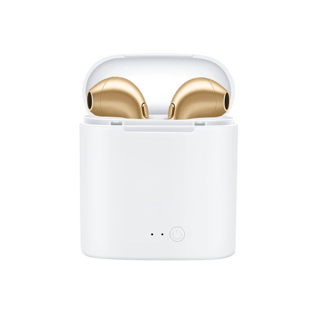 Gold Wireless Earbuds