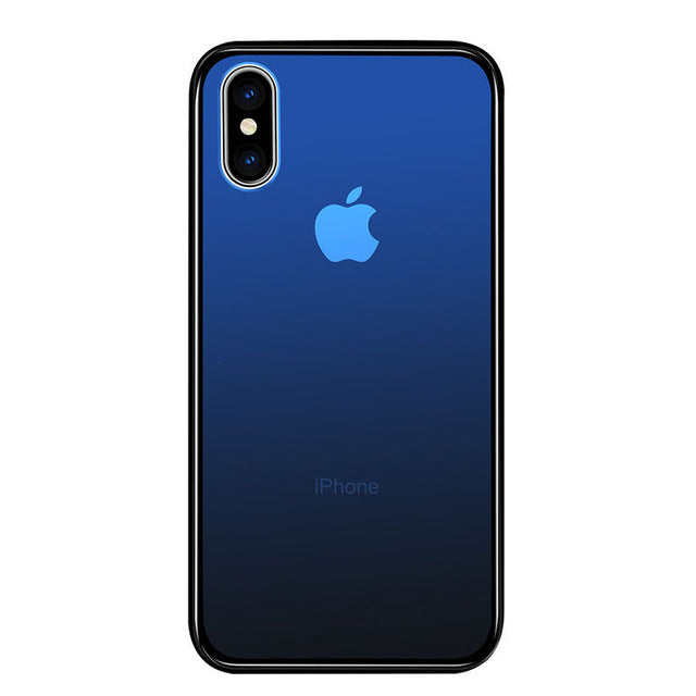Tempered Glass Case for iPhone XS & XS Max