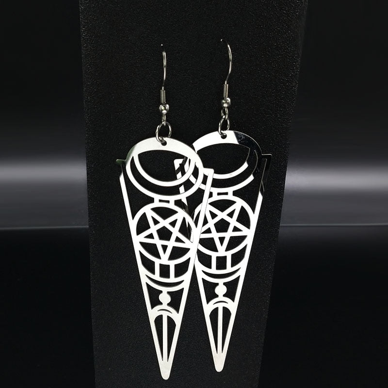 Metric earrings
