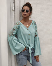 Load image into Gallery viewer, Mint Lace Top