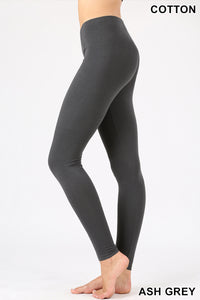 PREMIUM COTTON FULL LENGTH LEGGINGS