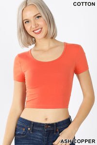 ORANGE - CROP TOP