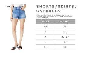 Micki Denim KanCan Shorts