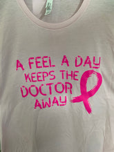 Load image into Gallery viewer, BREAST CANCER GRAPHIC TEE