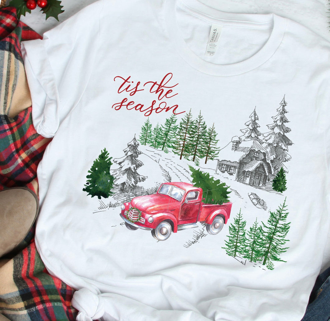 Tis The Season Winter Graphic T-Shirt