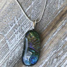 Load image into Gallery viewer, Blue Fire- Pendant