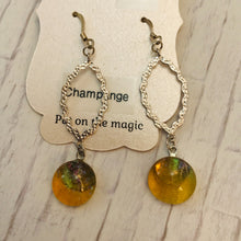 Load image into Gallery viewer, Champagne Earrings