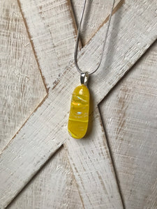 Sunflower - Yellow Pendant